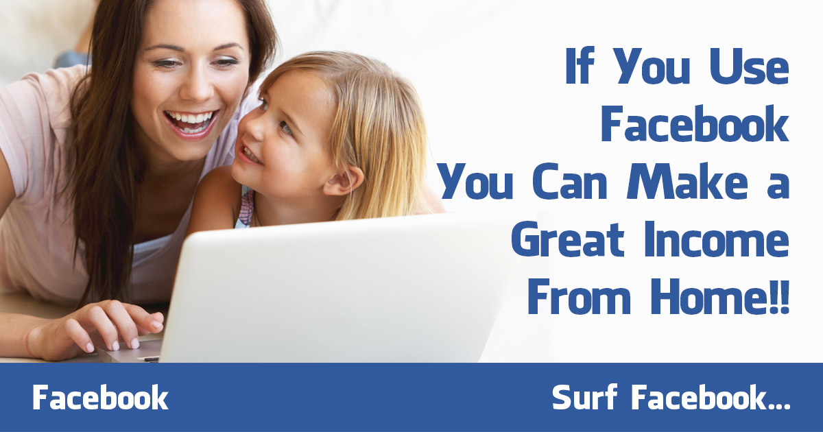 WHY NOT Generate Leads & Income while you SURF FACEBOOK!