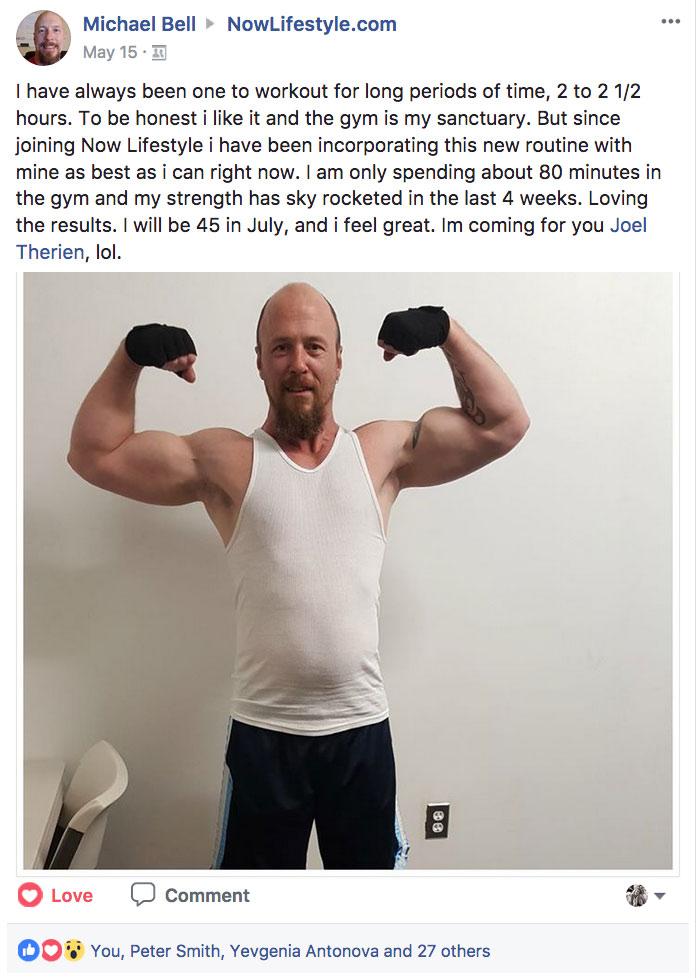 Michael Bell Facebook Post